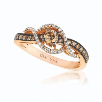 Le Vian Chocolatier® 14k Strawberry Gold Diamond Ring