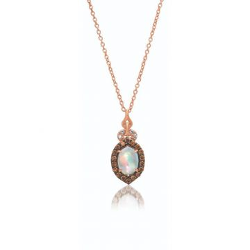 Le Vian Chocolatier® 14k Strawberry Gold Diamond & Gemstone Pendant