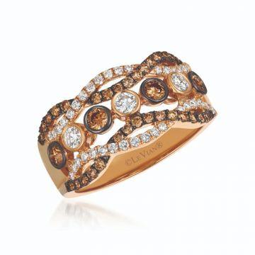 Le Vian Chocolatier® 14k Strawberry Gold Diamond Ring