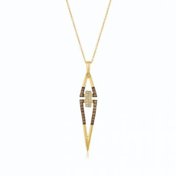 Le Vian Chocolatier® 14k Honey Gold Diamond Pendant
