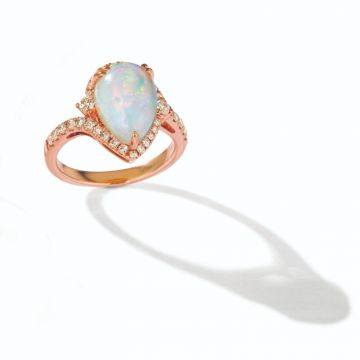 Le Vian Creme Brulee® 14k Strawberry Gold Diamond & Gemstone Ring