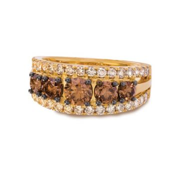 Le Vian Creme Brulee® 14k Honey Gold Diamond Ring